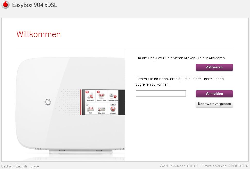 easybox 904 xdsl neus bugs und co seite 3 vodafone community. Black Bedroom Furniture Sets. Home Design Ideas