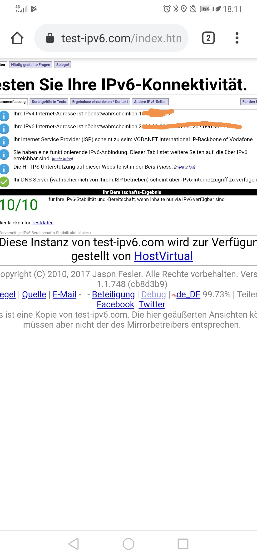 Ipv6 Vodafone