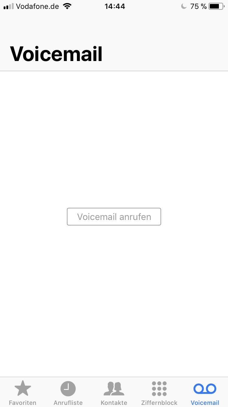 vodafon mailbox einrichten