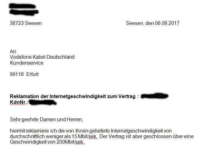 Vodafone Beschwerdemanagement