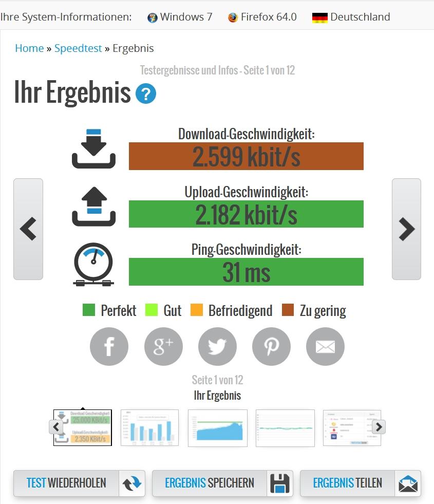 Download Langsam Upload Schnell