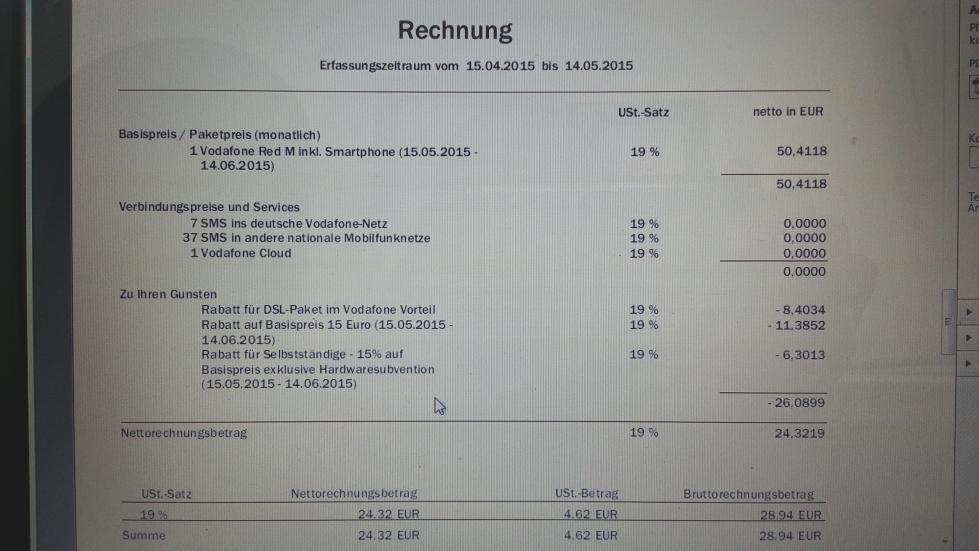 Vertragsverlängerung Vodafone Red M Für 2999 Mit Seite 30